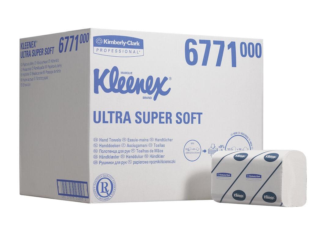 KLEENEX® ULTRA SUPER SOFT Handtücher  -  Medium