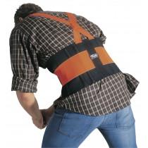 Stützgürtel TRACK AIR mit Schultergurt warnorange